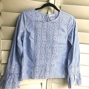 Beautiful Embroidered Trendy Summer Blouse